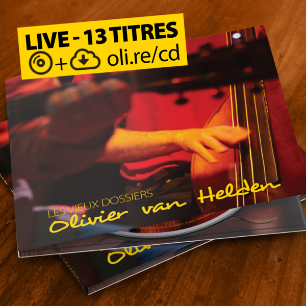 Présentation en ligne de l'album «Les vieux dossiers»