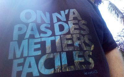 J'ai reçu mon dernier t-shirt