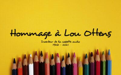 Hommage à Lou Ottens…  Inventeur de la cassette audio 1926 – 2021